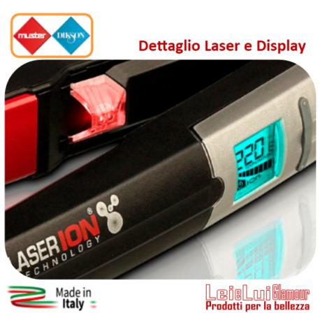 Piastra CP3 dig Laser Ion Tourmaline – particolare display – b – mod.1-rig.7-id.304