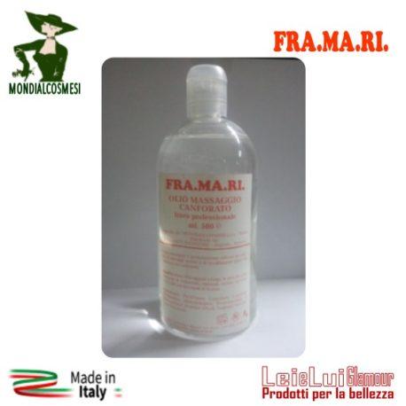 Olio massaggio canforato – FRA.MA.RI. – mod.10-rig.4-id.1134 – 300