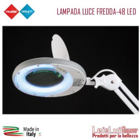LAMPADA LUCE FREDDA-48 LED solo lente – mod.13-rig.12-id.1488 – 300