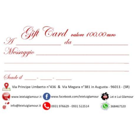 Gift Card 100_x il sito