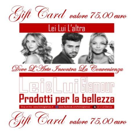 Gift Card 75_x il sito_fronte
