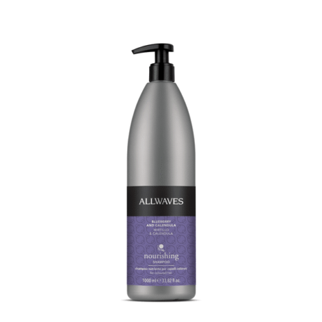 shampoo nutriente calendula e mirtillo allwaves